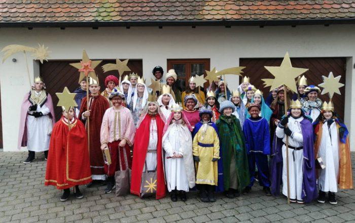 Sternsinger aus Unlingen